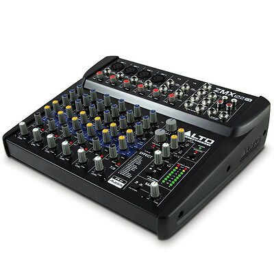 Alto Zephyr ZMX122FX 8 Channel PA Mixer with Effects