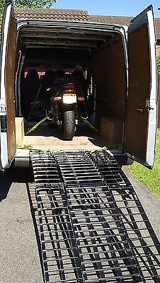 125 cc 125cc Motorbike Delivery Motorcycle Collection. Courier Transporter.