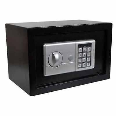 Secure Electronic Digital Home Safe High Security Steel Personal Money Cash Box