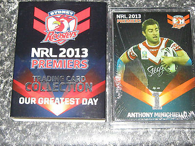 2013 NRL ESP  ROOSTERS  Premiers set of 25 cards...500 MADE