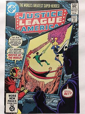 DC Comics 1982JUSTICE LEAGUE of AMERICA Issue 199 **Free UK Postage**