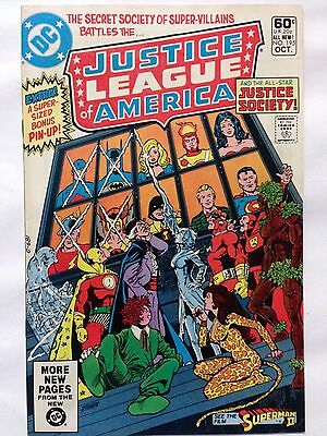 DC Comics 1981 JUSTICE LEAGUE of AMERICA Issue 195 **Free UK Postage**