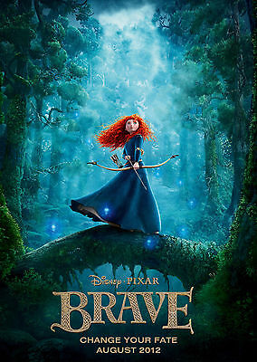 Brave (2012) V2 - A1/A2 POSTER **BUY ANY 2 AND GET 1 FREE OFFER**