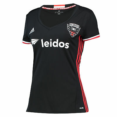 adidas Femmes Maillot Football DC United Domicile Maillot 2016 Jersey T-Shirt