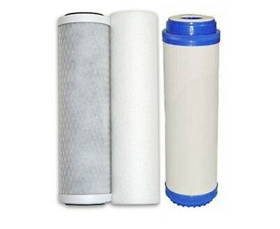 3 Pre Filters for Reverse Osmosis Water Filters, Replacement RO Filter Set