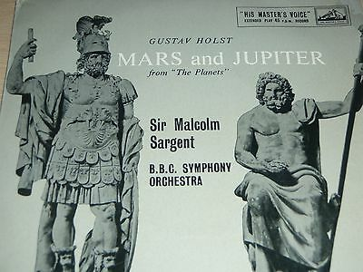 "Mars and Jupiter from The Planets Holst BBC Symphony Orchestra 7"" EP 7ER 5112"