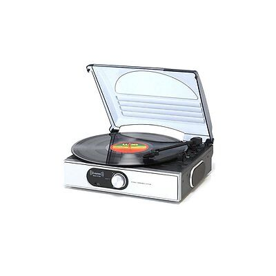 Steepletone St938 Record Player Turntable Stereo 33 45 78