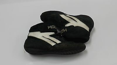 USED!! Koden Junior Bambino Go-Kart Motorsport Race Boots Leather Size;32