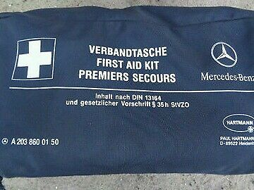 Mercedes first aid kit