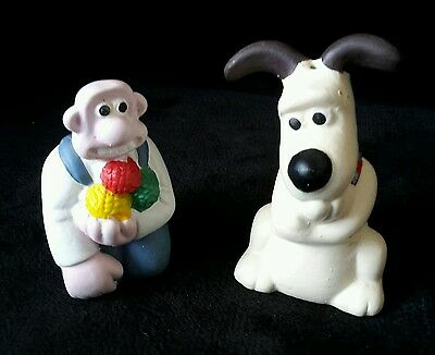 Wallace And Gromit Salt And Pepper Pots,