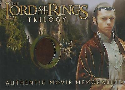 "Lord of the Rings Trilogy - ""Elrond's Rivendell Robe"" Costume Memorabilia Card"