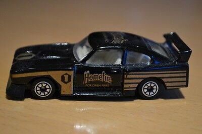 Corgi Juniors Black Ford Capri 3.0 S Model Car - Homefires