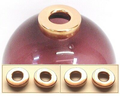 "4 LIGHTNING ROD BALL END CAPS Hole Size for 5/8"" Rods / WeatherVane   FREE SHIP"