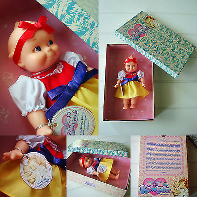 "NIB 8"" Kewpie Doll as Snow White Original box Rosie O Neill So SWEET! 1999"
