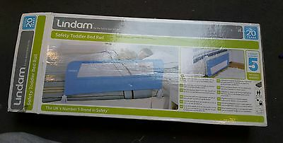 Lindam Easy Fit Bedrail Baby Sleeping Safety - Light Blue BARGAIN!!!