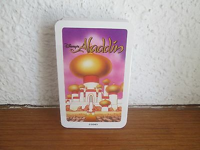 "Unused, Still Wrapped Vintage Pack of Disney Playing Cards "" ALADDIN """