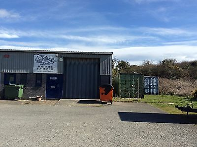 Industrial Unit +Building Plot.  Isle Of Anglesey.  North Wales.