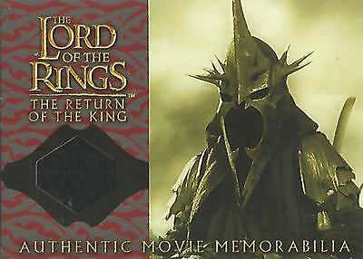 "Lord of the Rings Return of the King: ""Witch-King"" Memorabilia Costume Card"