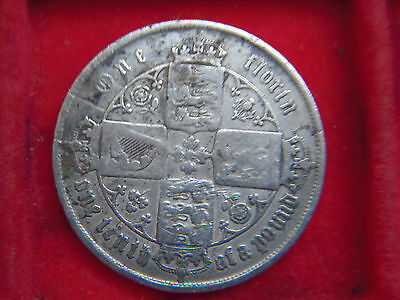 1856 Victorian Florin From My Collection