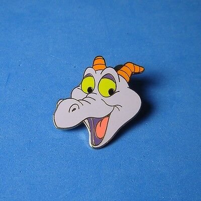 Figment Face Head Smiling Cast Lanyard WDW Disney Pin