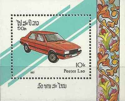 Timbre Voitures Laos BF95 * lot 5379