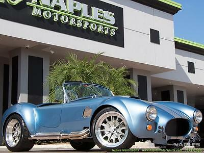 1965 Replica/Kit Makes  1965 Replica/Kit BackDraft Racing 427 Shelby Replica 5 Speed, 480hp, BMW Suspens