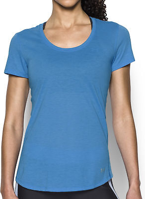 Under Armour Streaker Short Sleeve Ladies Running Top - Blue
