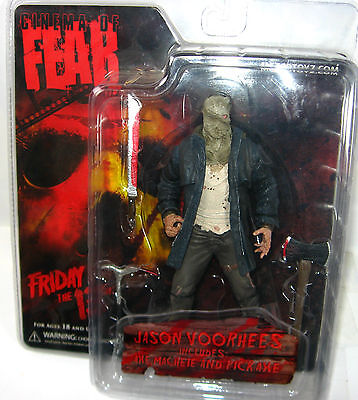 FRODAY THE 13TH Jason Voorhees Actionfigur CINEMA OF FEAR Neu (L)