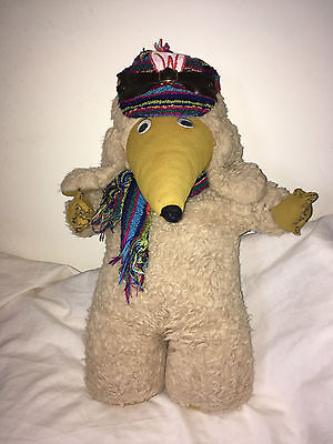 Soft Plush Womble in hat and scarf Hug  Toy Teddy