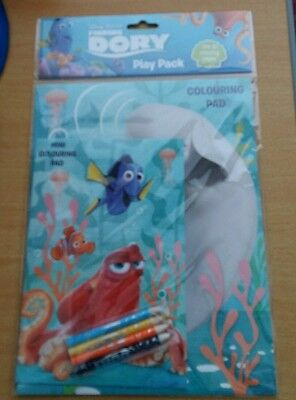 New Out Disney Pixar Finding Dory Play Pack Over 30 Colouring Pages Brand New