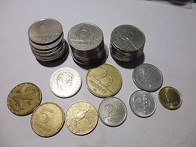 Hungarian  coins as photo