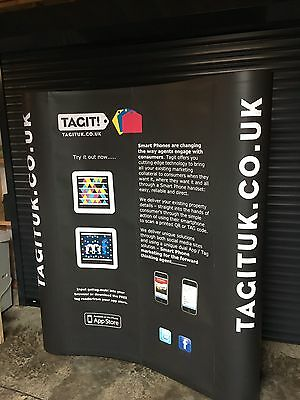 Exhibition pop up display stand and counter (3x2 - 2.1m height x 1.9m width)