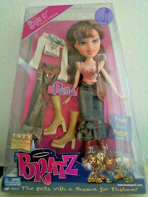 Girlz Girl Bratz Style It Fashion Collection Dana Doll Extra Outfit New Rare