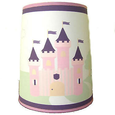 Girls Pink Princess Castle Light Shade