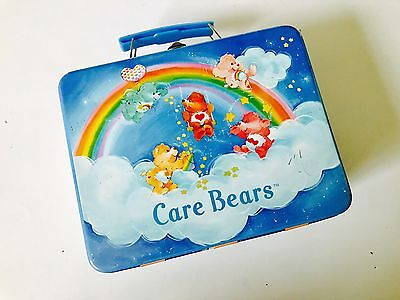 The Care Bears Rainbow Tin Lunch Box By Rix 2002