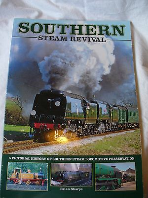 Southern Steam Revival by Brian Sharpe - southern locomotive preservation