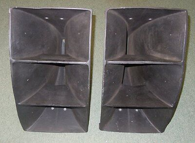 Vintage Altec Lansing 311-60 Horns pair for 288 290 291 292 drivers