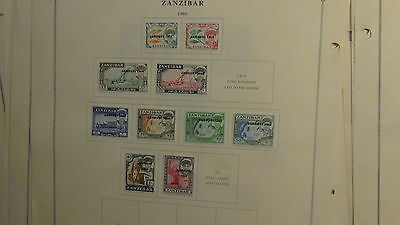 Africa countries stamp collection on Scott International pages