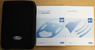 Ford Mondeo 2000-2007 Handbook Owners Manual Wallet Pack 13308
