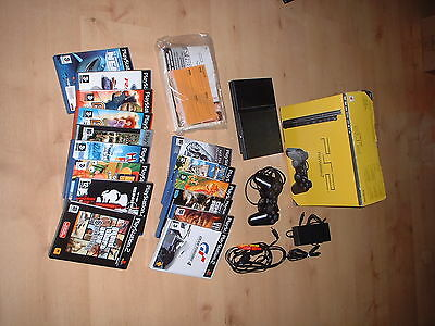Console Sony Playstation PS2 slim + 15 jeux