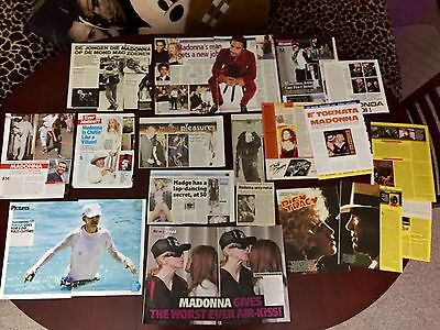 Madonna Various Magazine And Newspaper Articles Cuttings Pack FF