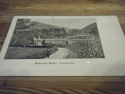 Reeds  Pictorial Card -  Howtown  Hotel - Ullswater  -  Unused Card  Vgc