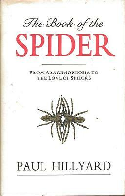 The Book Of The Spider - Paul Hillyard  - Hardback With DW 1994