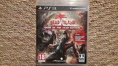 Dead Island Game Of The Year Edition Ps3 Version Francaise !!!