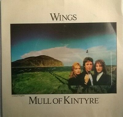 """Wings - Mull Of Kintyre - 7"""" Vinyl Record Picture Sleeve"""