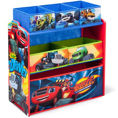 Blaze and the Monster Machines Multi-Bin Toy Organizer