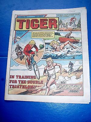 Tiger Comic  23/3/1985 Vgc