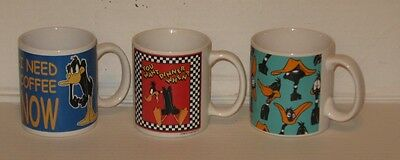 2 Daffy Duck Mugs / Cups
