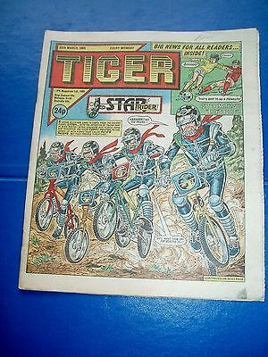 Tiger Comic  30/3/1985  Vgc
