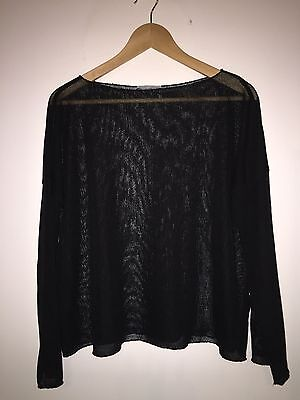 Pull Noir ZARA Taille M COMME NEUF